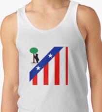 Camisetas de tirantes para hombre Oso con el Atlético