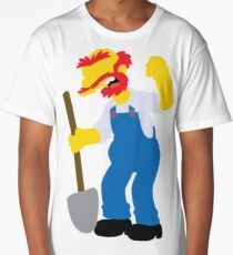 Groundskeeper Willie | The Simpsons Long T-Shirt
