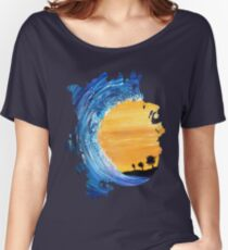 Tidal Wave Women's Relaxed Fit T-Shirt