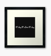 day after day  Framed Print