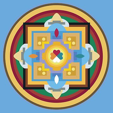 Maṇḍala 0001 by iopan