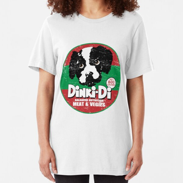 Dinki Di Dog Food Slim Fit T-Shirt