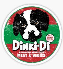 Dinki Di Dog Food Sticker