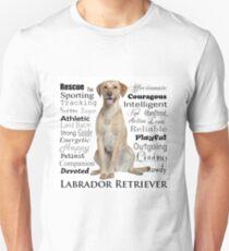 Yellow Lab Traits Unisex T-Shirt
