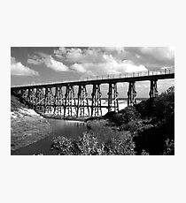 Kilcunda Trestle Bridge Photographic Print