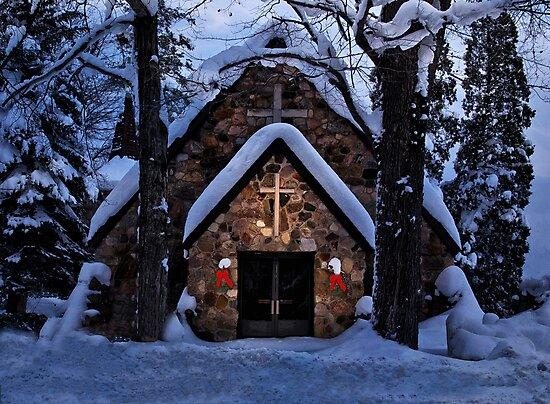 Little Stone Church - Erie, PA by Kathy Weaver