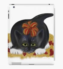 Valentine's Day Tuxedo Kitten iPad Case/Skin