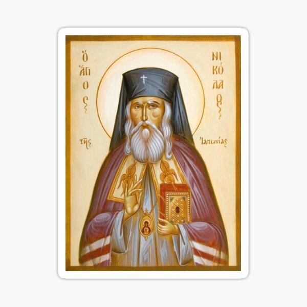 St Nicholas of Japan Sticker