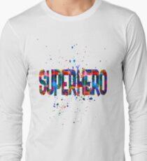Superhero Long Sleeve T-Shirt