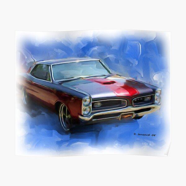 66' GTO Poster
