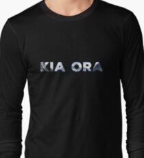 Kia Ora New Zealand Long Sleeve T-Shirt