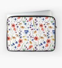 Wildblumen Muster Laptoptasche