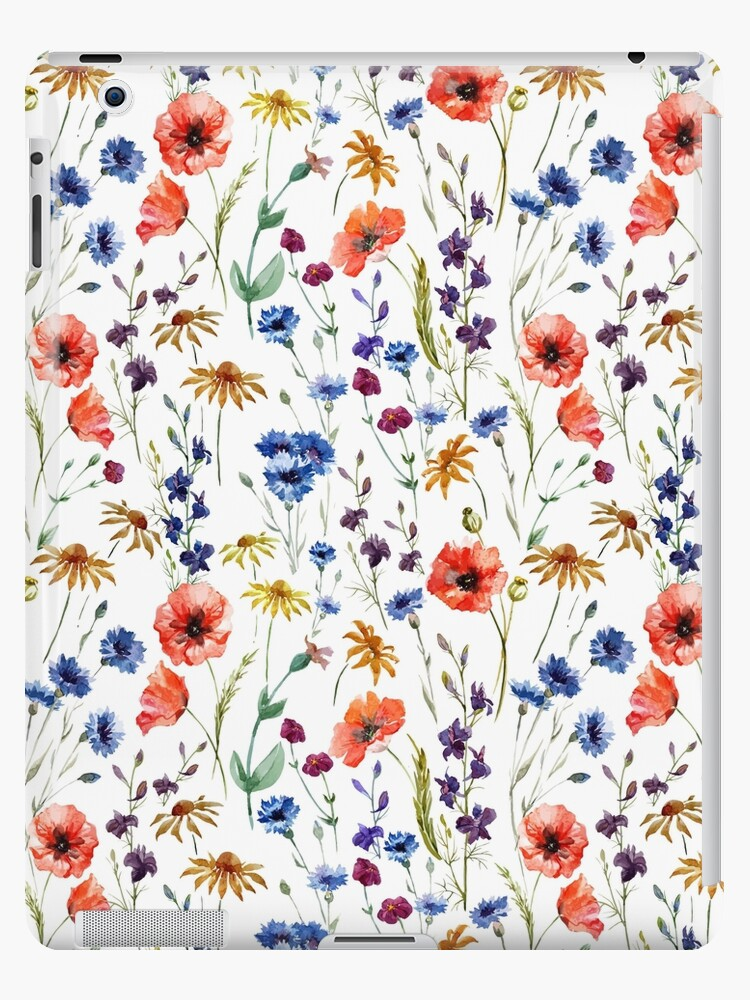 Wildflowers Pattern by junkydotcom