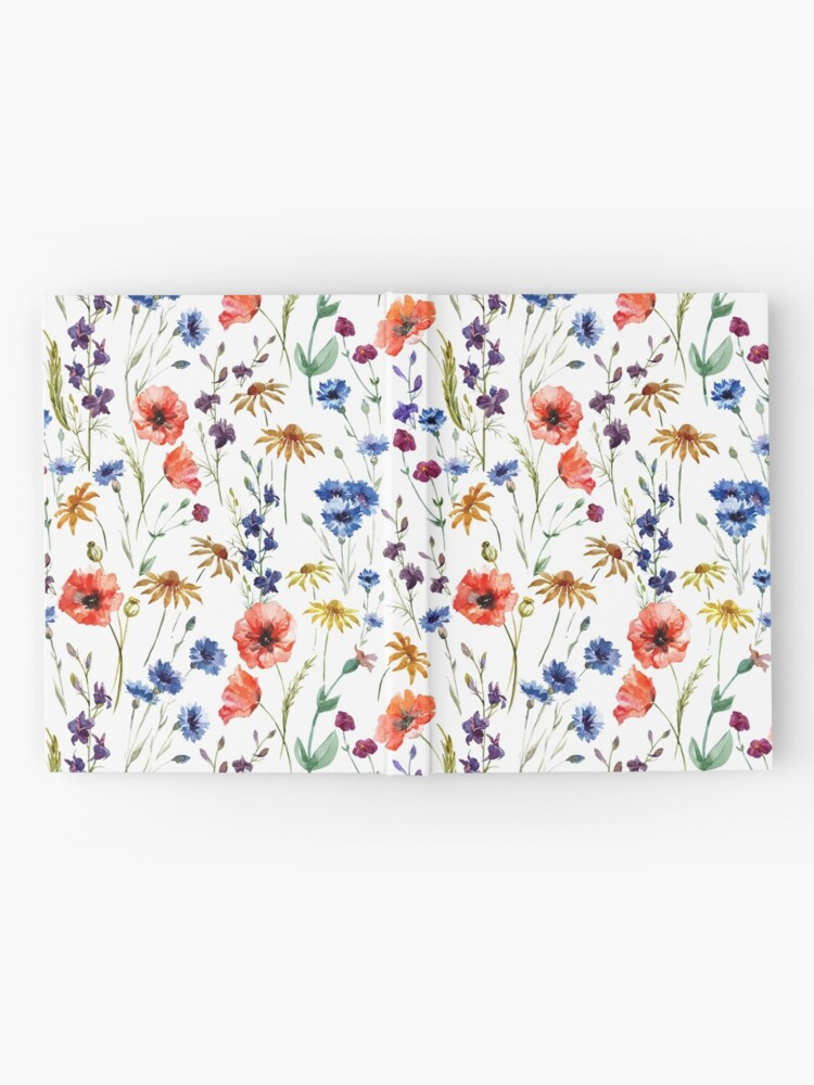 Alternate view of Wildflowers Pattern Hardcover Journal