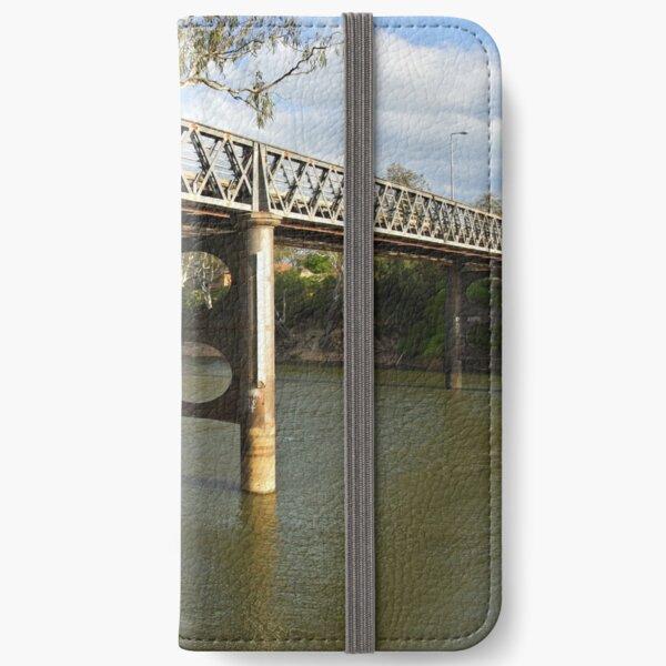 Murray River at Corowa iPhone Wallet