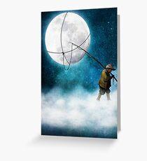 Moonwalk Greeting Card