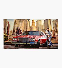 Starsky and Hutch Photographic Print
