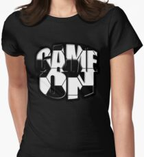 Game On Soccer Style Women's Fitted T-Shirt