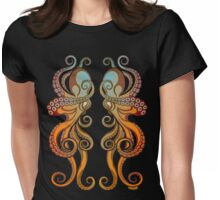 Mono Octopus (duo) #1 Womens Fitted T-Shirt