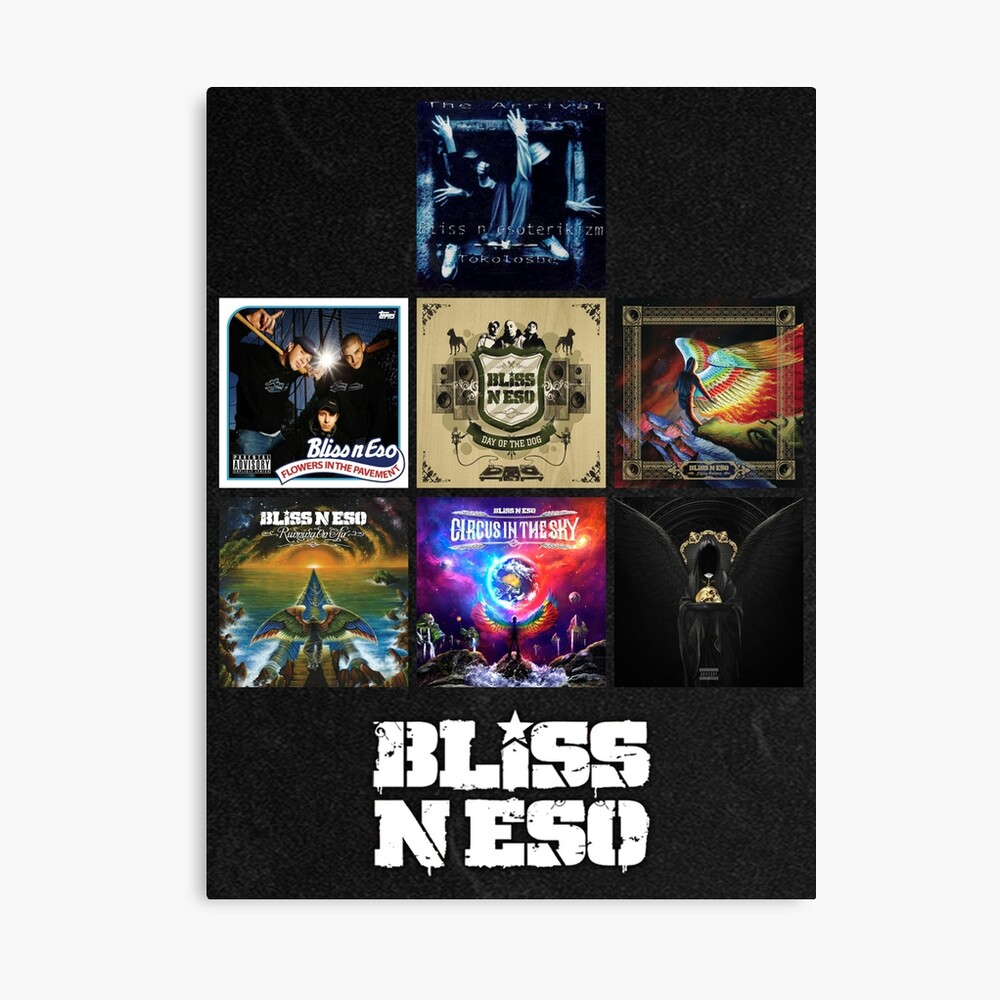Bliss N Eso Albums Poster By Shadoblayd Redbubble