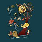 Fall Forest by bettinadreier75