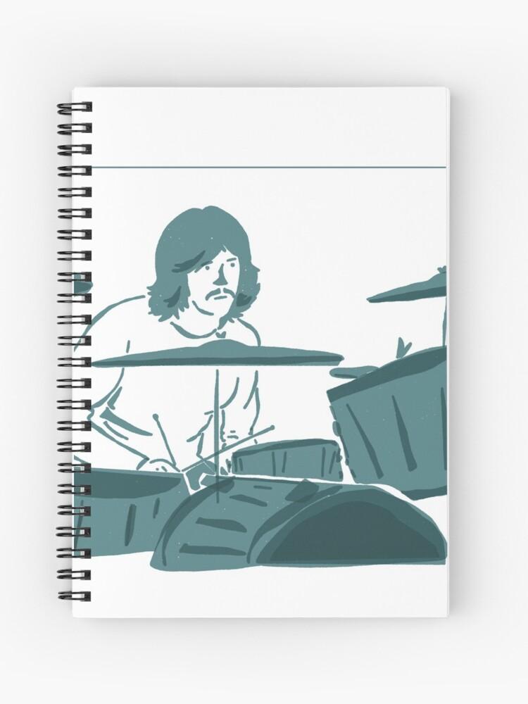 John Bonham - Bonzo - Led Zeppelin | Spiral Notebook