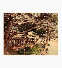 Hommoku tea house Photographic Print
