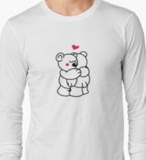 Teddys in love Long Sleeve T-Shirt