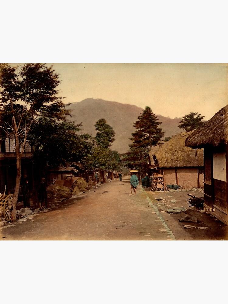 Nagakubo village at Nakasendo, Japan by Fletchsan