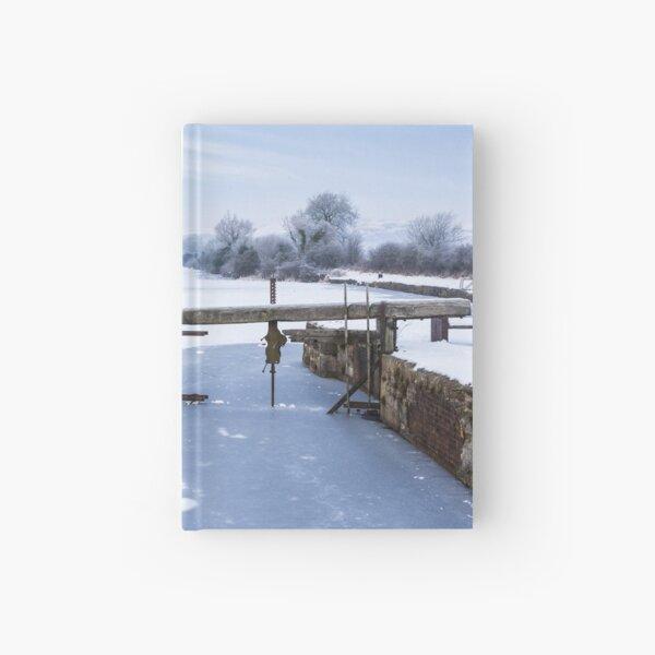 Frozen Ulverston Canal 2010 Hardcover Journal