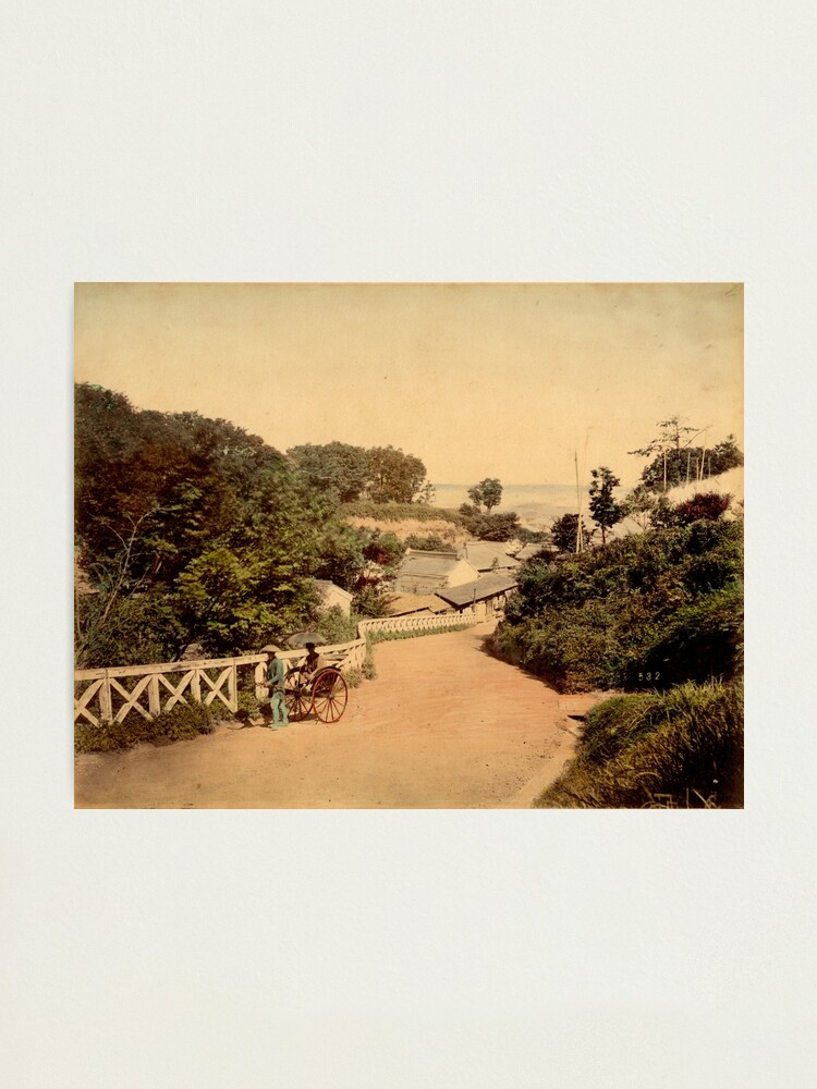 Alternate view of Yokohama bluff, Japan Photographic Print