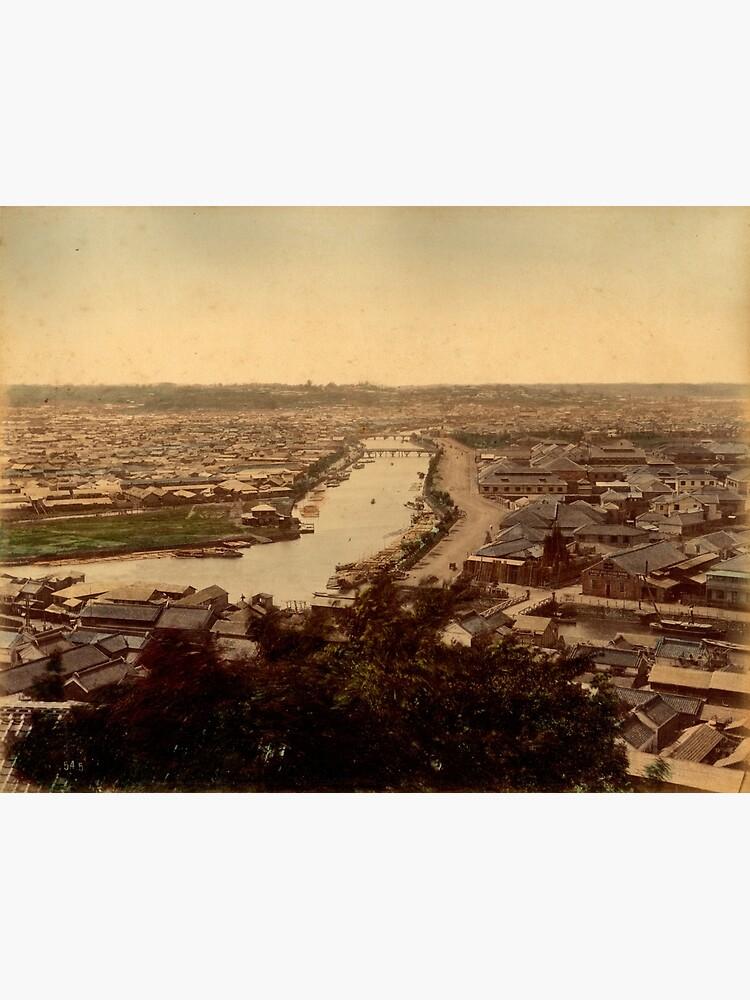 View over Yokohama, Japan by Fletchsan