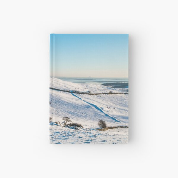 Hoad in Snow Hardcover Journal