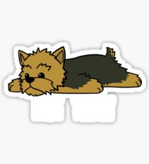 Funny Not Today Yorkshire Terrier Sticker
