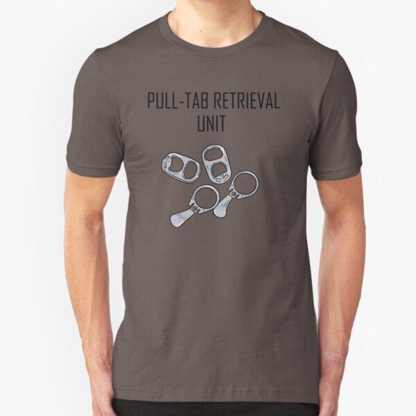 Pull Tab Retrieval Unit Slim Fit T-Shirt