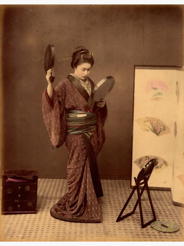 Japanese girl wearing kimono by Fletchsan