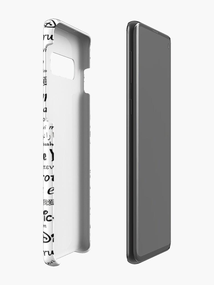 Alternative Ansicht von Liebe Hülle & Klebefolie für Samsung Galaxy