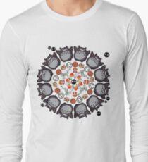 STUDIO GHIBLI MANDALA Long Sleeve T-Shirt