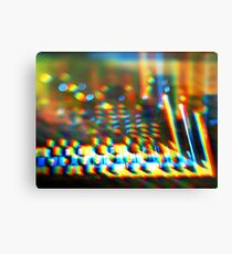 Sequential Circuits Diffraction Canvas Print