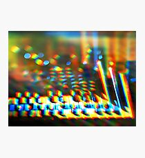 Sequential Circuits Diffraction Photographic Print