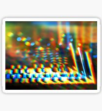 Sequential Circuits Diffraction Sticker
