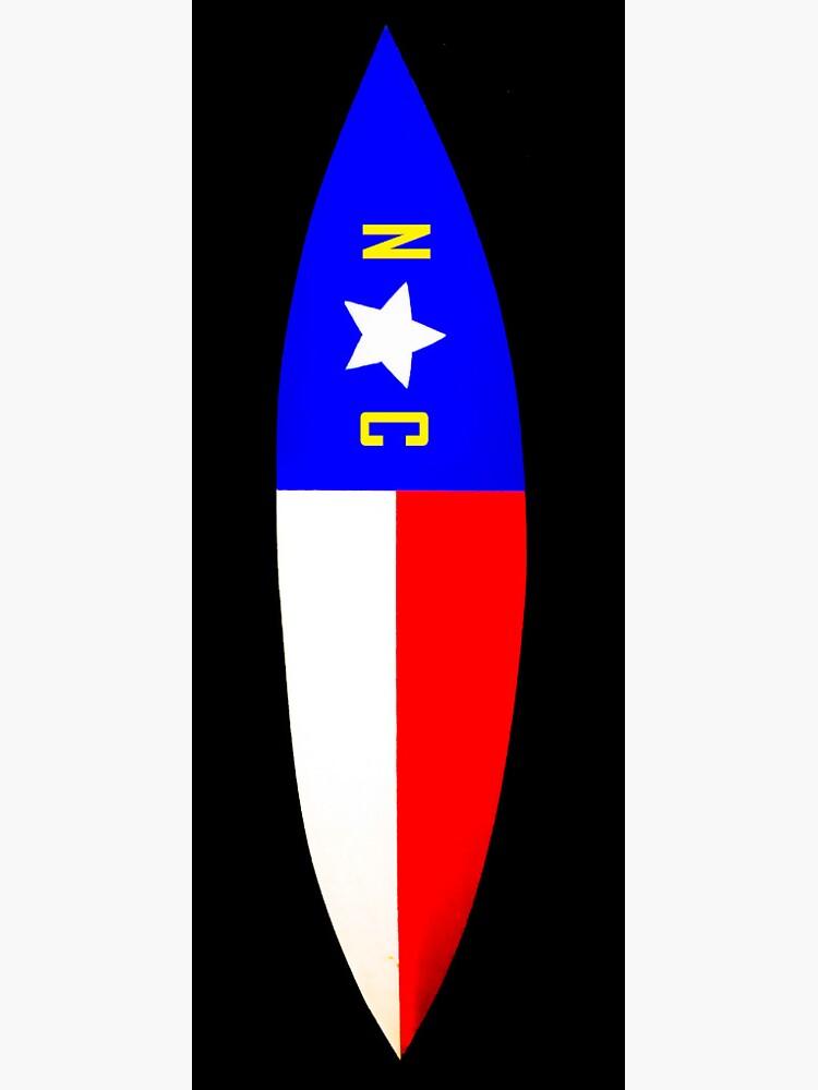 NC Surfboard by barryknauff