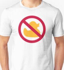 No Rubber ducks Unisex T-Shirt