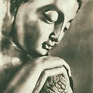 Buddha Contemplation by Madeleine Forsberg