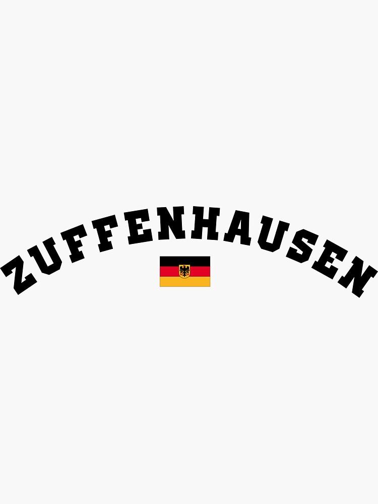 """""""ZUFFENHAUSEN"""" Sticker by melilot   Redbubble"""