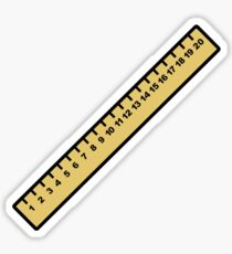 Ruler Sticker