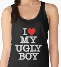 Die Antwoord - I Love My Ugly Boy (white) Women's Tank Top