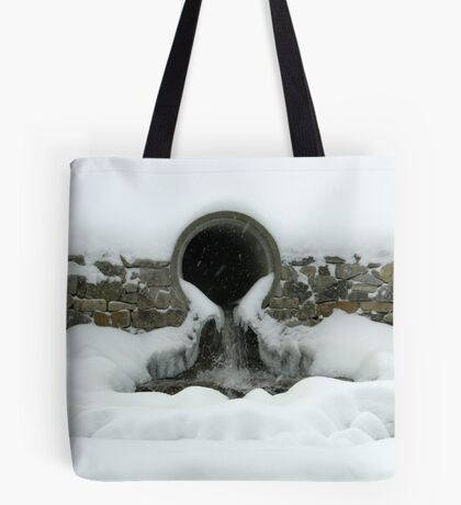 Beneath the Cover of Snow Tote Bag