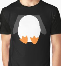 Penguin Belly T-Shirt Put Your Arms Behind Your Back Graphic T-Shirt