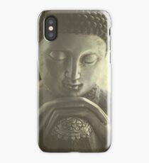 Buddha Close iPhone Case/Skin